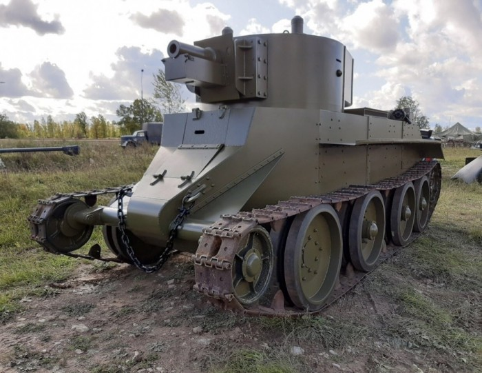 Быстроходный артиллерист