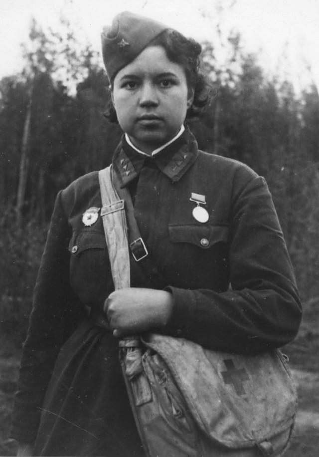 Дочь генерала Панфилова.