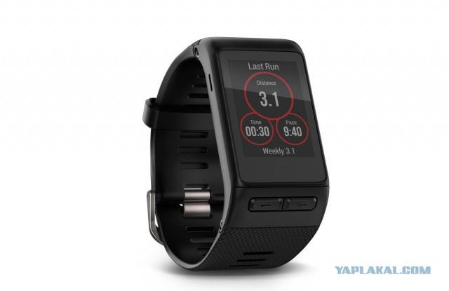 Смарт-часы GARMIN Vivoactive HR Черный