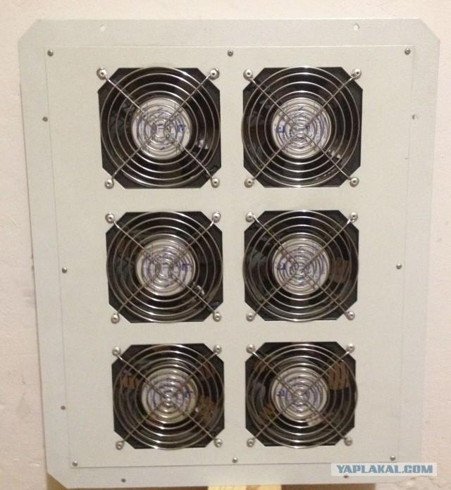 продам вентиляторный блок/крыша TLK в серверный шкаф (мск)