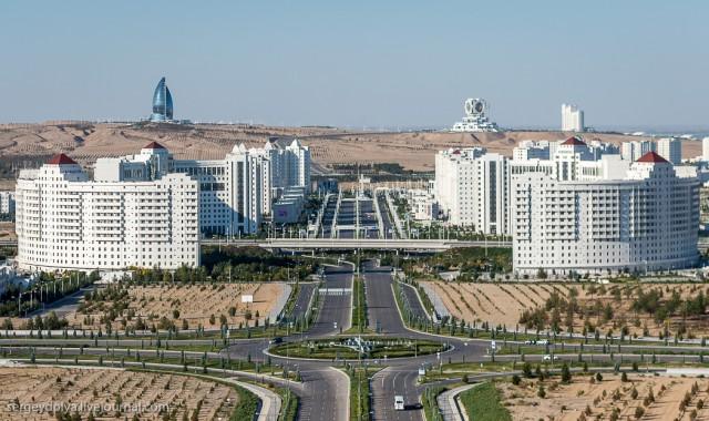 Туркменистан. Фантастический Ашхабад