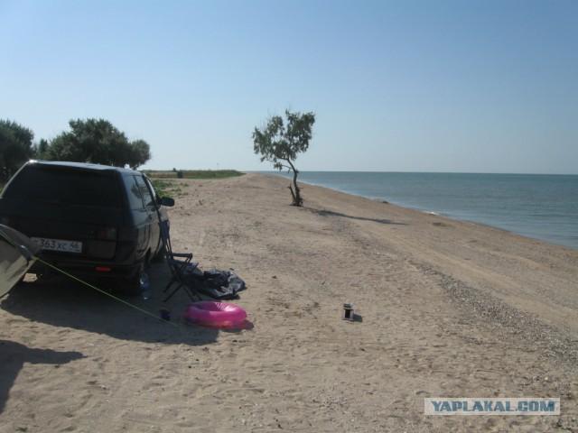 Азовское и Черное море на машине (Не Крым)