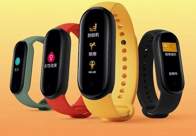 Xiaomi представила новый фитнесс-браслет MiBand 5
