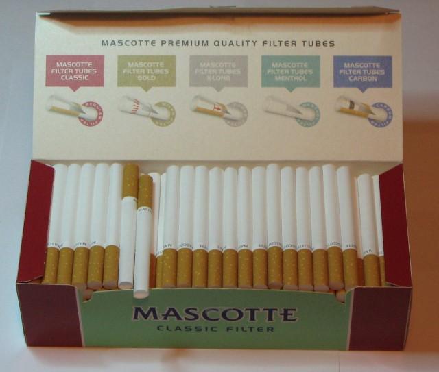 Самодельные гильзы для сигарет