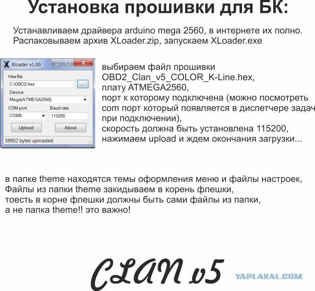 Бортовой компьютер своими руками, часть 2