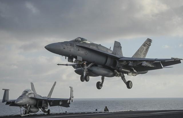 США вместе с Францией и Великобританией начали военную операцию против Сирии