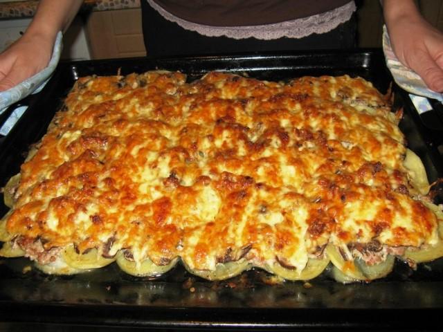 Мясо по французски без картошки в духовке рецепт с пошагово в