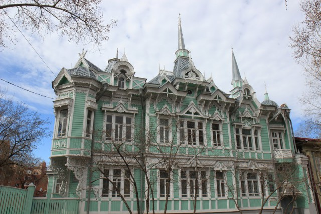Сибирский город Томск
