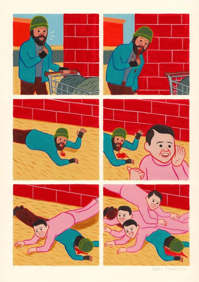 Напрочь упоротая карикатура от Joan Cornella