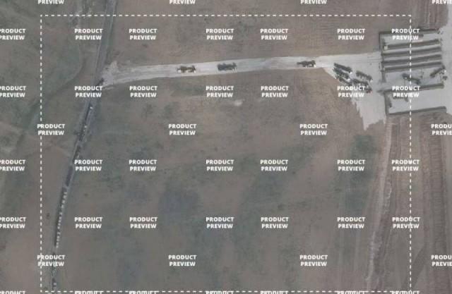 Колонна техники США вошла на территорию Сирии
