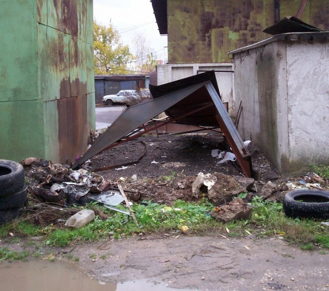 Мой дом-гараж в Москве