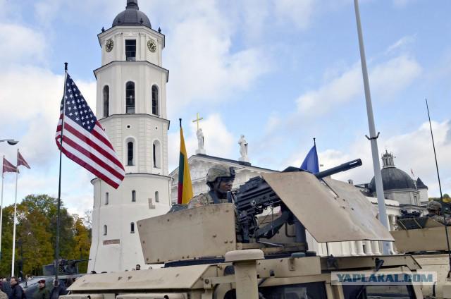В аквапарке Друскининкая пьяные американские солдаты устроили погром