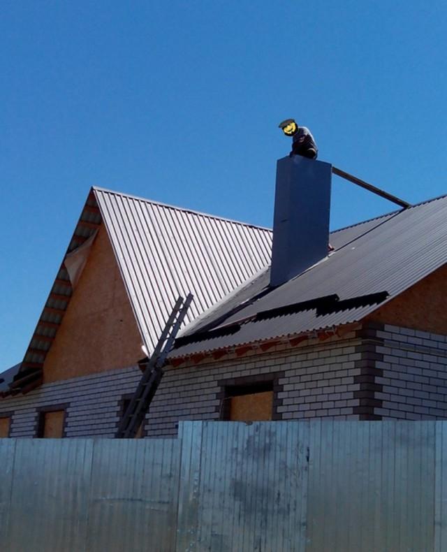 Стройка-постройка длинною в... 120м2+гараж 40м2