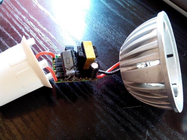 Ремонт светильников на светодиодах своими руками