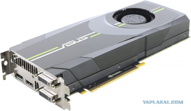 Мощная Asus GeForce GTX680-2GD5[CПБ]