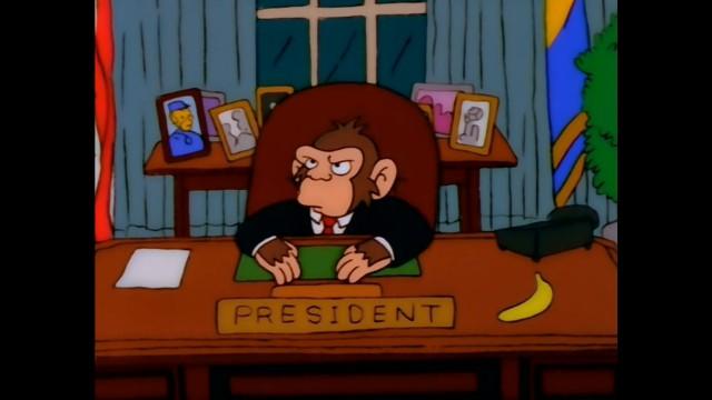 Выборы в США и Симпсоны
