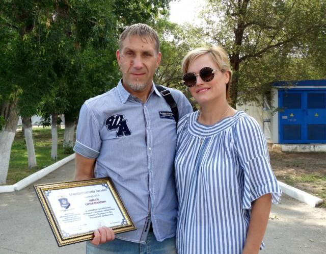 Астраханские мужики отоварили гопника, напавшего на женщину с молотком
