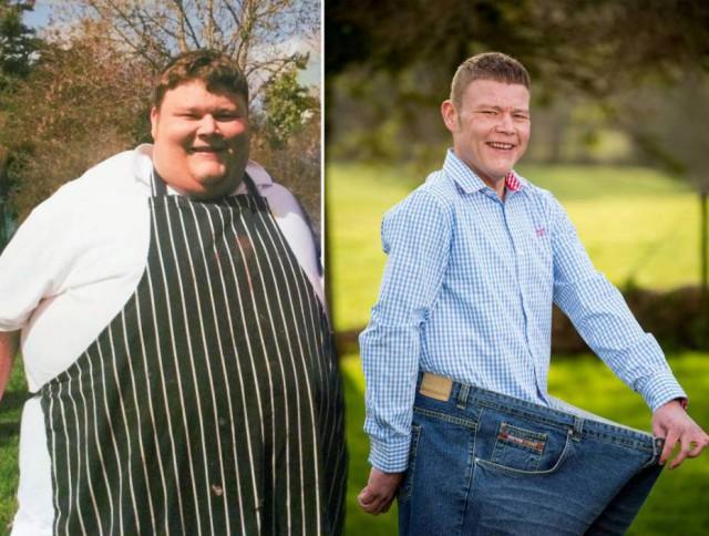 Четкая мотивация в похудении от друга