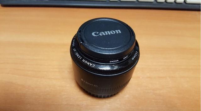 Canon EF 50mm 1:18.8 II