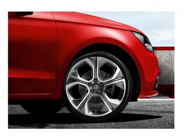 Диск литые R18 Audi дизайн 5 спиц цвет Anthracite