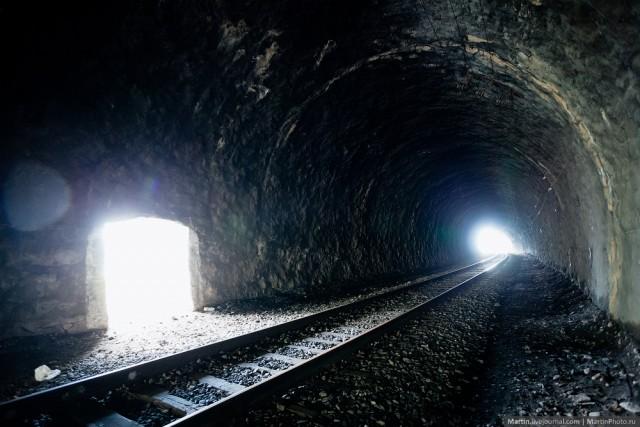 Путешествие по Кругобайкальской железной дороге
