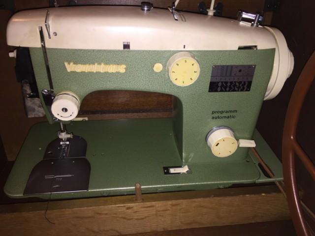 Что с ней делать?! Veritas - швейная машина