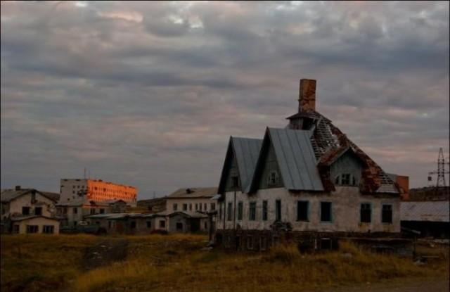 Поселок-призрак Дальние Зеленцы