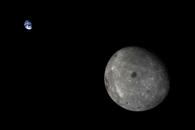 Обратная сторона китайской Луны