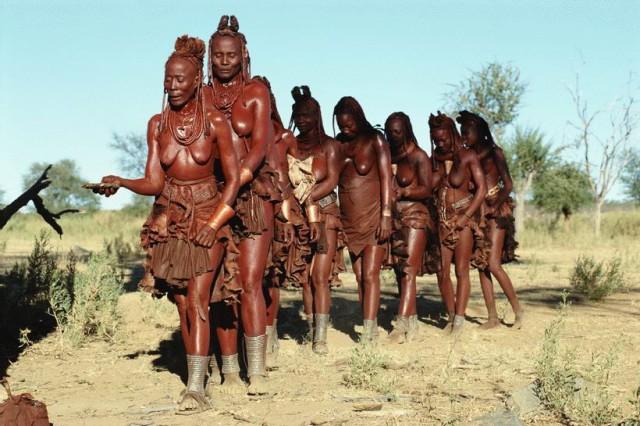 Секс у племен народов африки