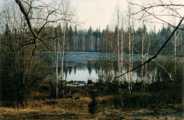 Двойное дно озер.