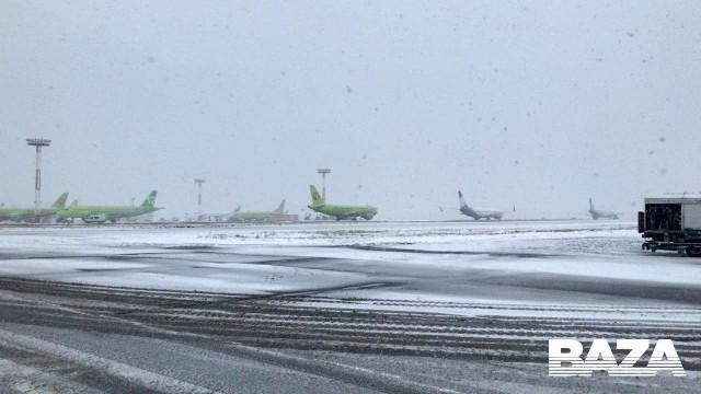 В аэропорту Домодедово из-за угрозы взрыва экстренно приземлился лайнер авиакомпании S7, следовавший из Симферополя в Москву