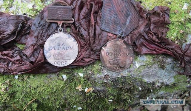 В Эстонии обнаружили останки девятерых красноармейцев