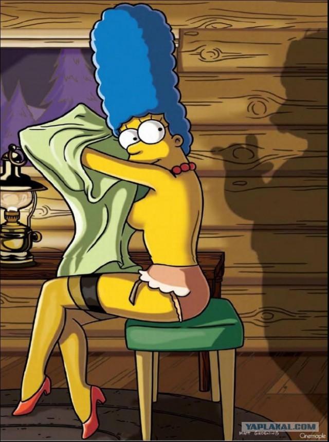 фото из журнала playboy порно мультики симпсоны