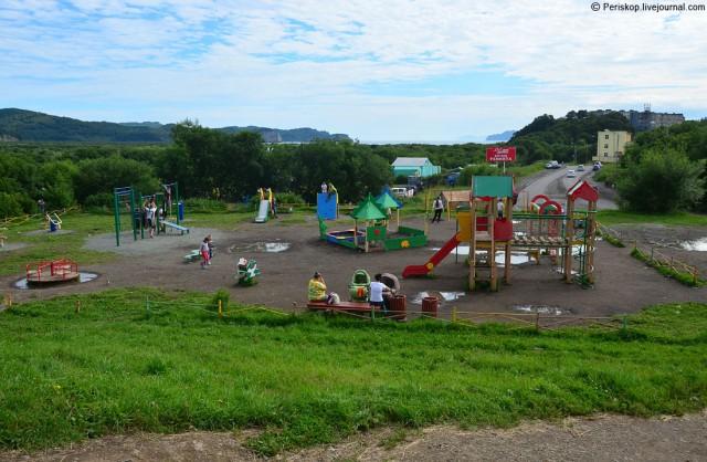 Посёлок Завойко (Камчатка), на самом отшибе