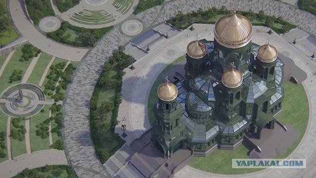 Военнослужащим урезали премии из-за строительства храма минобороны