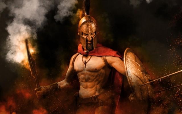 """""""Это Спарта!"""" Подставка для ножей """"Спартанец"""" своими руками"""
