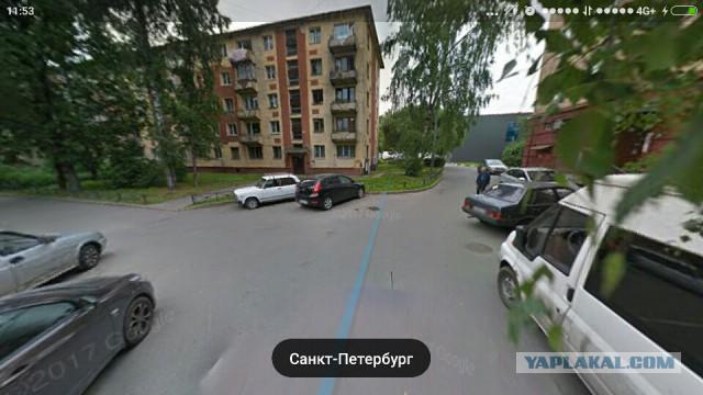 Убийство за парковочное место. Санкт-Петербург.