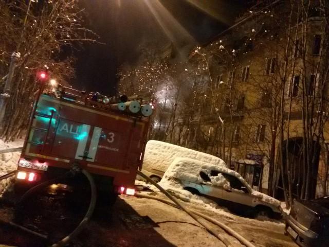 Жилой дом в центре Мурманска тушили более 12 часов