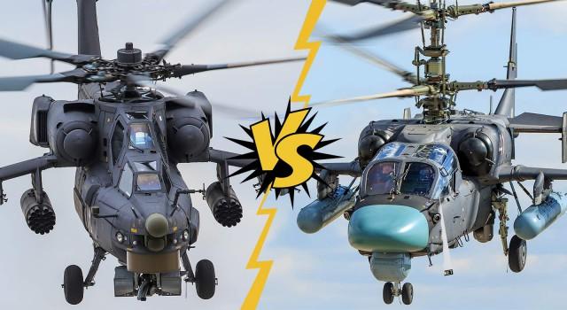 «Винтокрылые убийцы»: Ми-28 vs. Ка-52