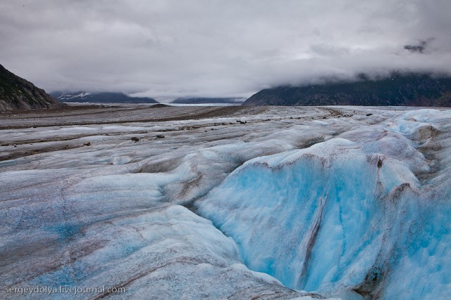 Вертолетная прогулка к леднику