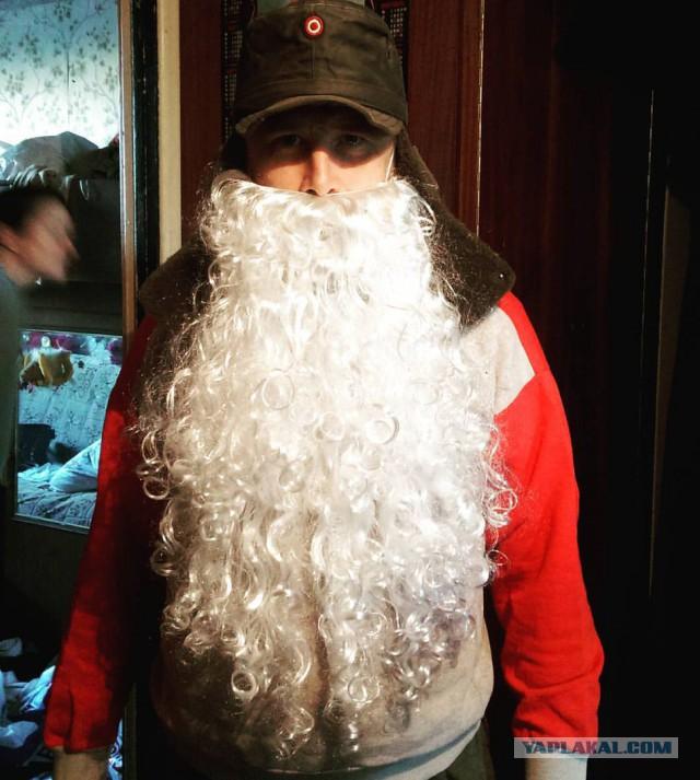Как сделать бороду для старика своими руками 131