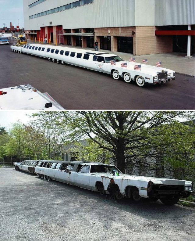 Самый длинный в мире лимузин