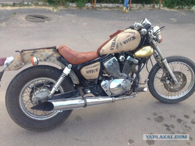 Продам мотоцикл Yamaha Bobber