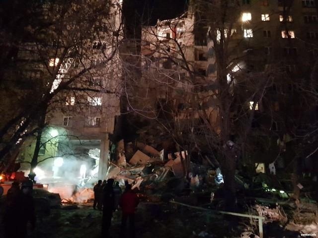 Подъезд дома обрушился в Магнитогорске в результате взрыва газа