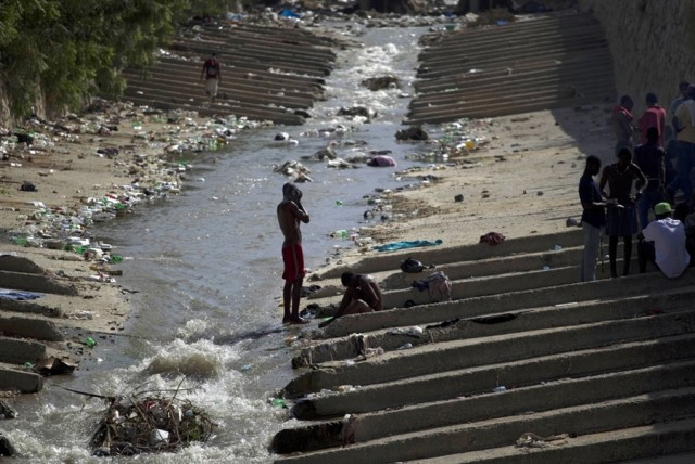 Источник эпидемии на Гаити