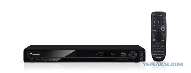 DVD с HDMI и USB Pioneer DV-3022KV