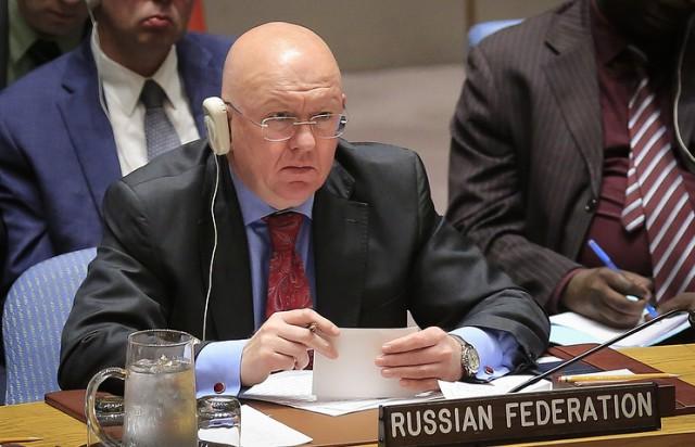 Россия наложила вето на резолюцию США по Сирии в Совете безопасности ООН