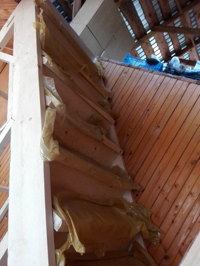 Лестница на даче летом 2015 года