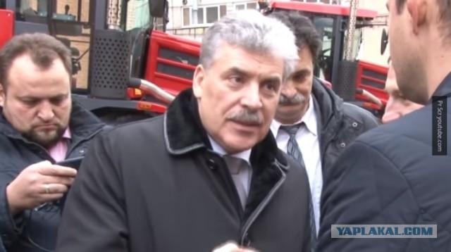 Грудинину предъявлен иск на сумму 1 млрд рублей