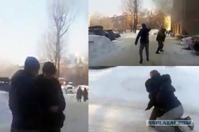 В Новосибирске - бывший мент расстрелял соседа из-за парковки